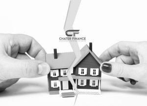 الطلاق وحالة وجود بيت مشترك مع رهن العقاري